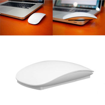 Kablosuz Optik Multi-touch Magic Mouse 2.4 GHz Fareler Windows Mac OS Için Beyaz