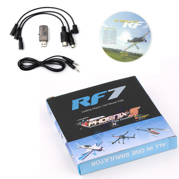 RF7 22 in 1 RC USB Flight Simulator PhoenixRC XTR G5 için Set Fit G6 G7 AeroFly Sep6